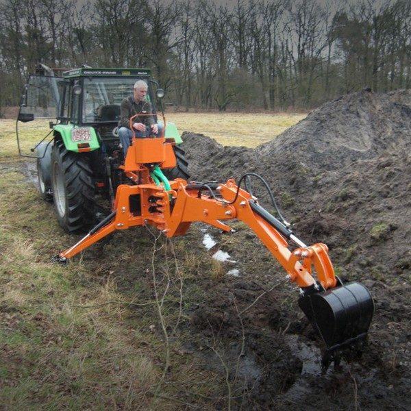 Rippekskavaator traktori rippesse, BHM-225